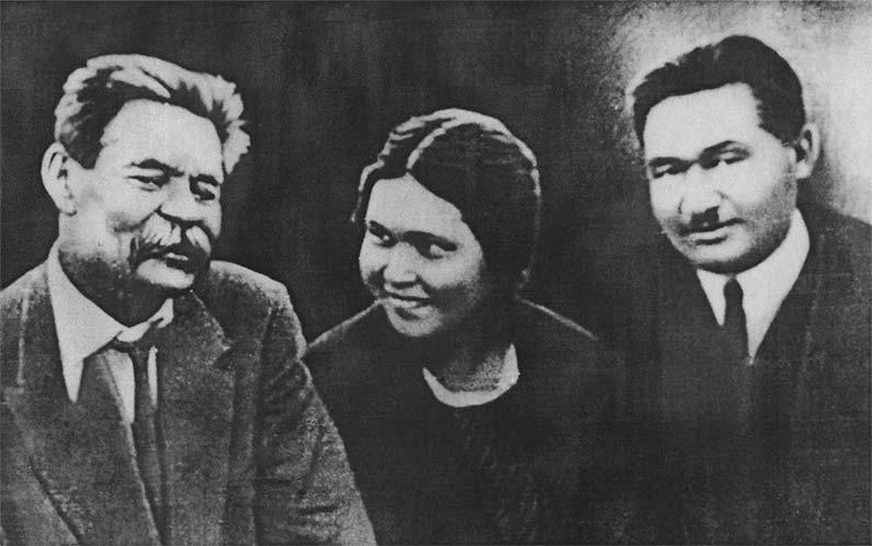 Она была другом Горького