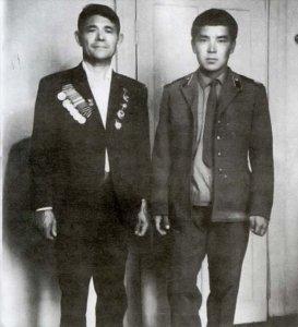 Н.М. Кушаков с сыном Виктором