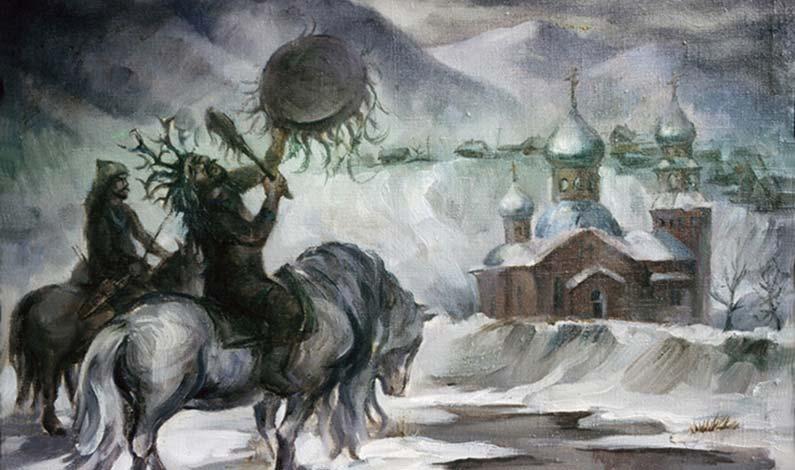 Церковь и шорцы