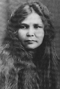 Полина Кусургашева. 1927 год