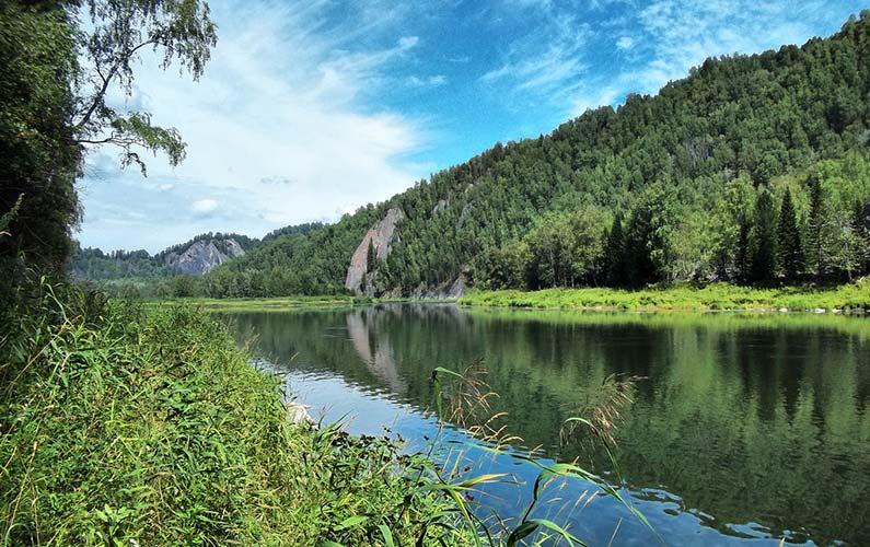 Лес, река, горы, зверье — как родные наши братья