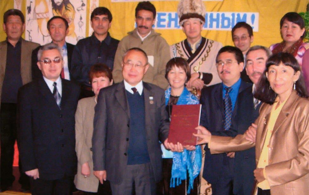 10 лет Шорской организации Союза писателей России