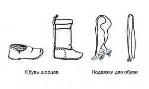 Обувь шорцев