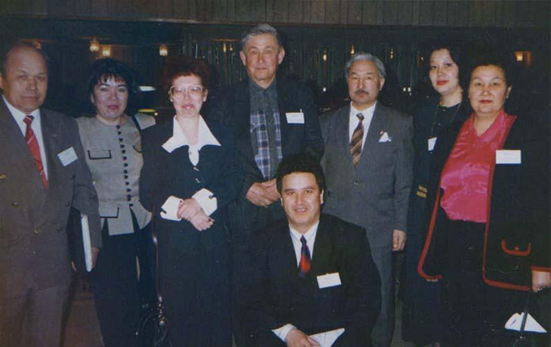 3 Съезд Ассоциации КМНСС и ДВ. Шорская делегация