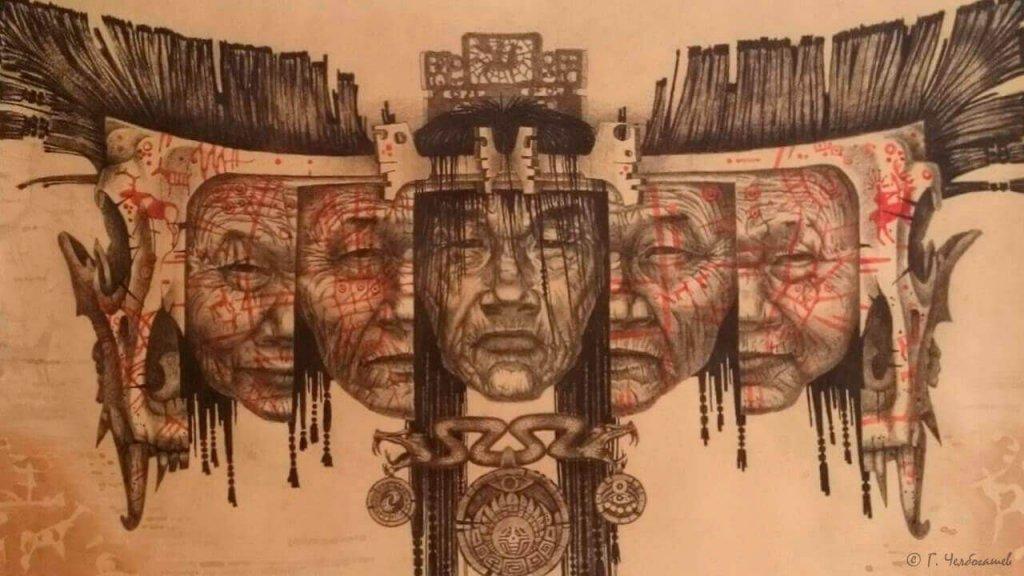 Лик шамана