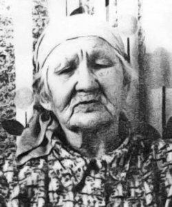 Матрена Ивановна Апонькина